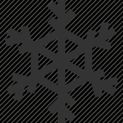 ice crystal, snow, snowflake, winter icon