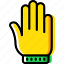 christmas, glove, winter icon