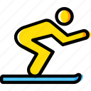 christmas, ski, skiing, sport, winter icon