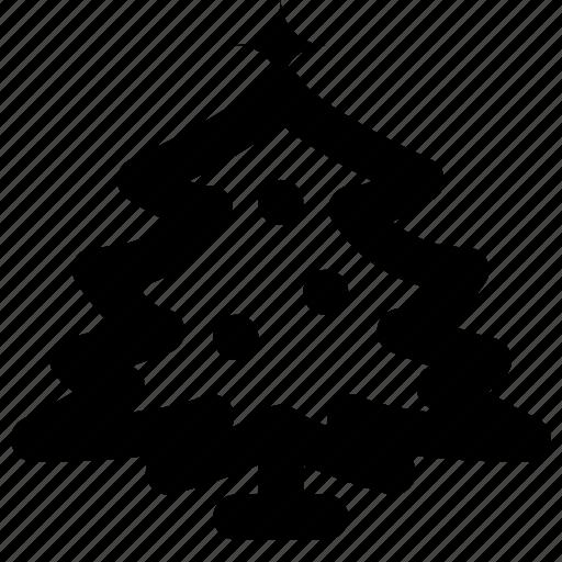 christmas, holiday, tree, winter icon
