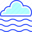 cloud, cold, fog, holiday, season, winter icon