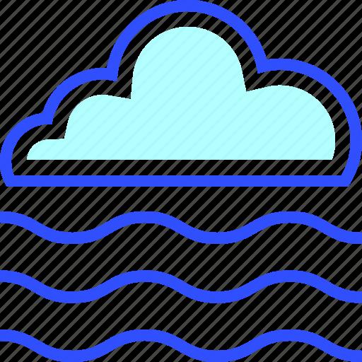 cloud, cold, fog, holiday, season, winter icon