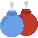 bauble, christmas, winter icon
