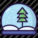 christmas, snow, snowglobe, winter, xmas