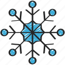 snowflake, december, holidays, snow, snowing, winter, flake