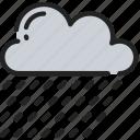 december, holidays, raining, weather, winter icon