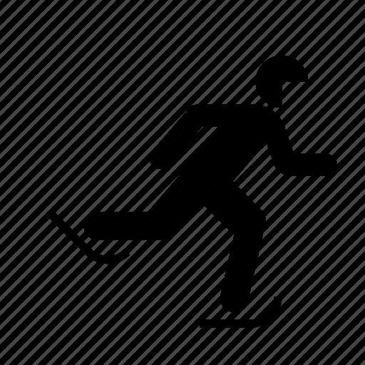 skating, speed, sport, winter icon