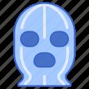 face, mask, ski, winter icon