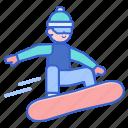 snow, snowboarding, sport, winter