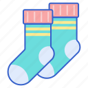 cold, fashion, socks, winter icon