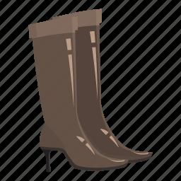 boot, cartoon, fashion, female, foot, heel, shoe icon