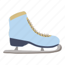 blade, boot, cartoon, ice, shoe, skating, sport