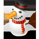 christmas, snowman, winter