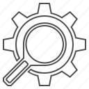 search engine, seo icon