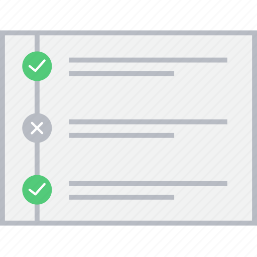 Checklist, style, wireframe, ui, web icon - Download