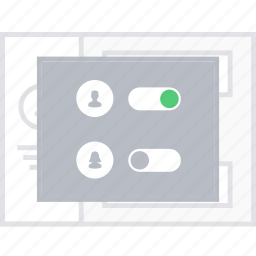 controls, style, ui, user, web, wireframe icon