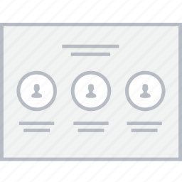 page, style, team, ui, web, wireframe icon