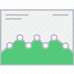 analytics, graph, style, ui, web, wireframe icon