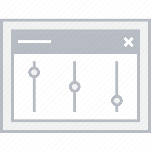 Settings, style, ui, web, wireframe icon - Download on Iconfinder