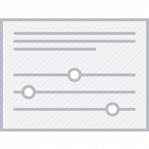 settings, style, ui, web, wireframe icon