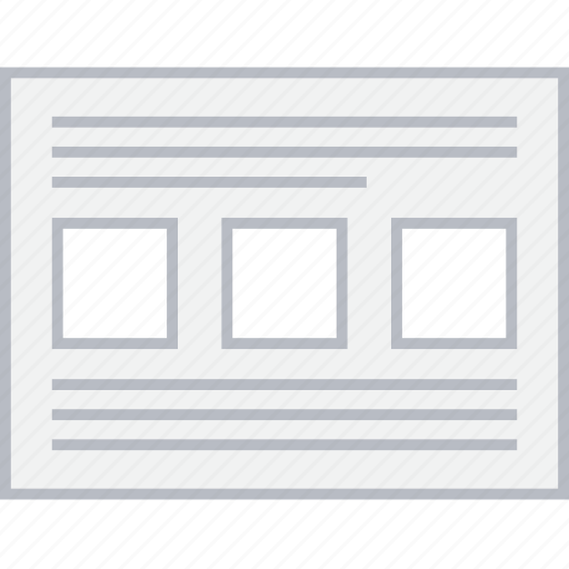 image, style, text, thumbs, ui, web, wireframe icon