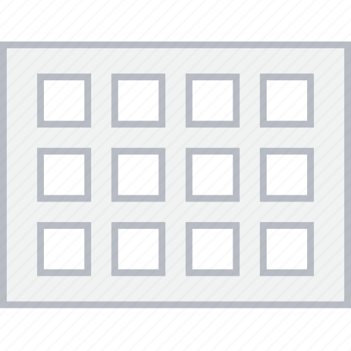 column, layout, page, thumb, ui, web, wireframe icon