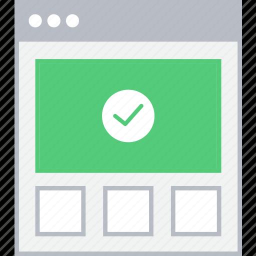 style, success, ui, upload, web, wireframe icon