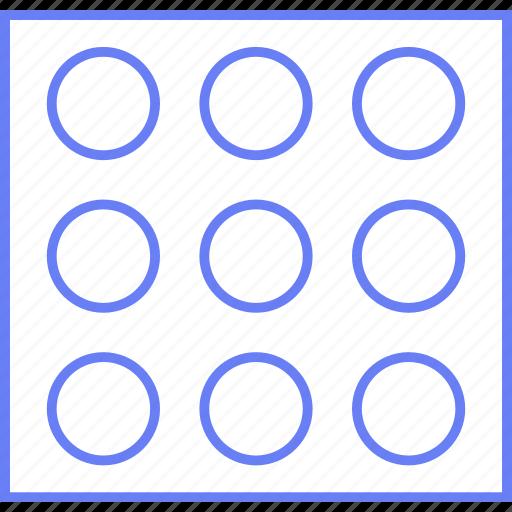 grid, image, style, ui, web, wireframe icon