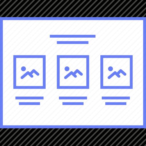 image, style, thumbs, ui, web, wireframe icon