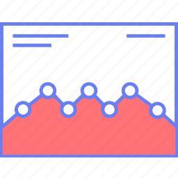 analytics, graph, style, ui, web, wireframe icon