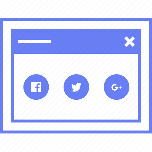 share, social, style, ui, web, wireframe icon