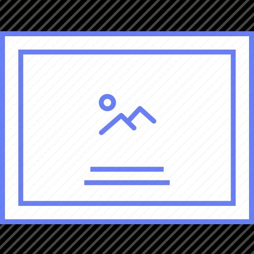enlarged, image, style, ui, web, wireframe icon