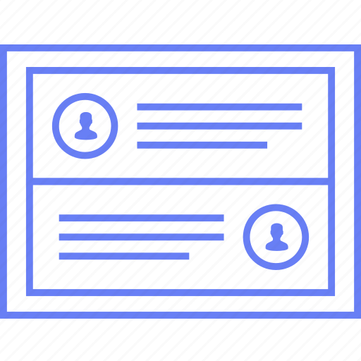 alternatives, info, profile, style, ui, web, wireframe icon