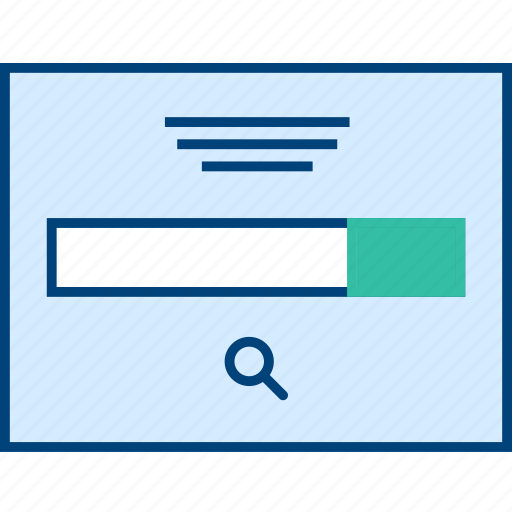 bar, search, style, ui, web, wireframe icon