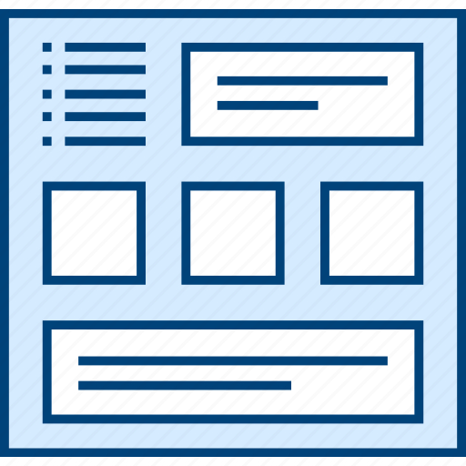 Multigrid, style, ui, web, wireframe icon - Download on Iconfinder