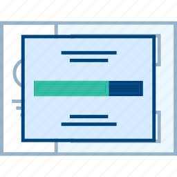 form, popup, style, ui, web, wireframe icon