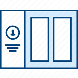 grid, style, ui, user, web, wireframe icon
