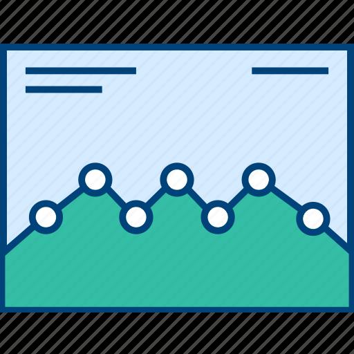 Web, style, graph, wireframe, analytics, ui icon