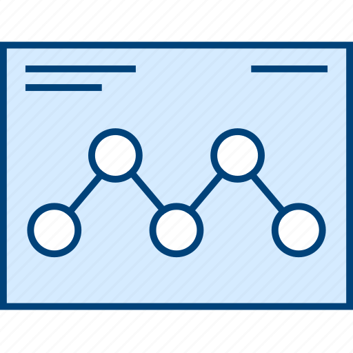 data, graph, style, ui, web, wireframe icon