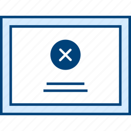 delete, page, style, ui, web, wireframe icon