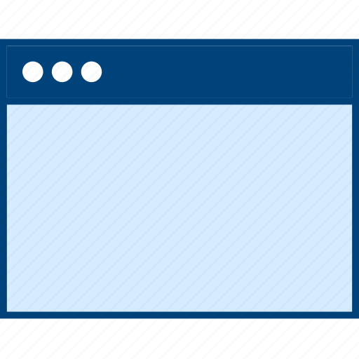 Web, style, wireframe, ui, blank, browser icon