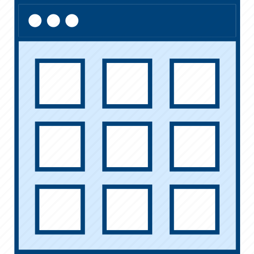 Grid, style, thumb, ui, web, wireframe icon - Download on Iconfinder