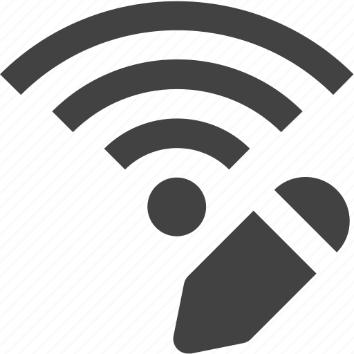 edit, signal, wifi, wireless icon