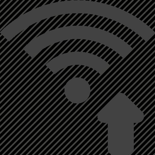 signal, up, wifi, wireless icon