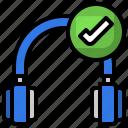 connected, wireless, music, earphones