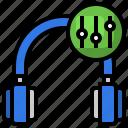 equalizer, earphone, headphones, electronics, device
