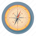 compass, arrow, direction, navigation, rose