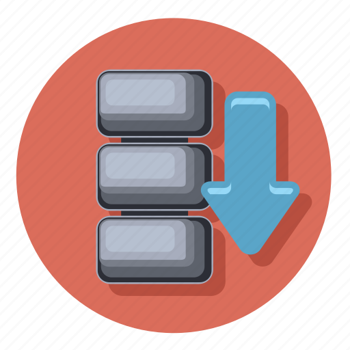 data, document, download, file, folder, format, storage icon
