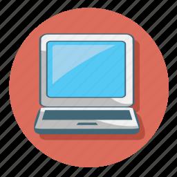 computer, laptop, monitor, pc, screen icon