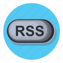 feed, media, network, news, rss icon